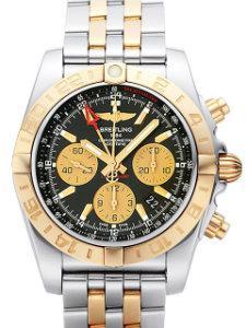 Breitling Chronomat 44 GMT Stahl Rosegold