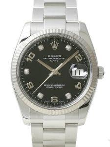 Rolex Date Stahl Weißgold