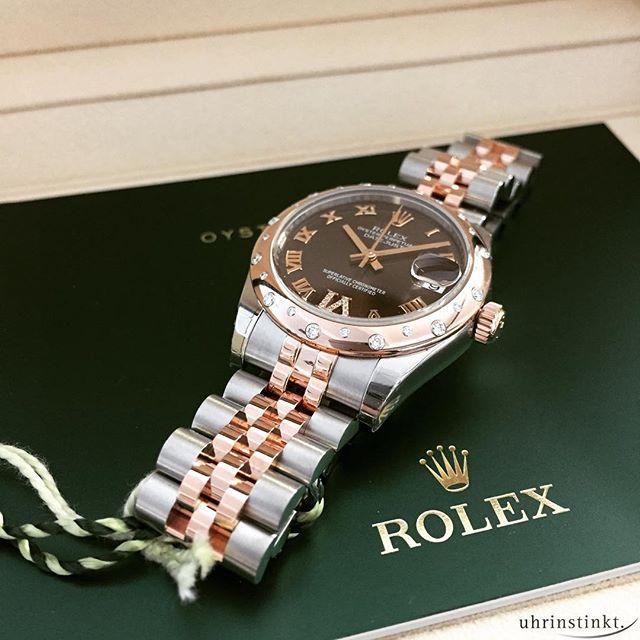 Rolex Datejust Lady 31 Chocolate Style