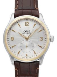 Oris Artelier Hand Winding Small Second Guillochierung