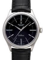 Rolex Cellini Time Chronometer Weißgold 39 mm Herrenuhr