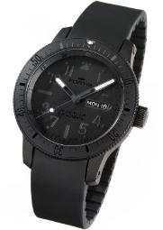 Fortis B-42 Black Black Automatic Day Date Limited Edition 44 mm