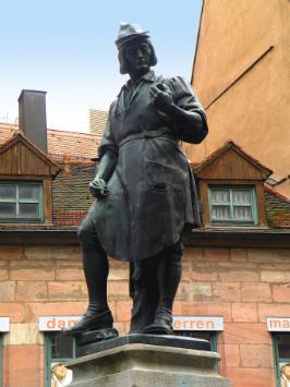 Peter Henlein Nürnberger Denkmal