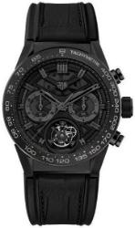 Tag Heuer Carrera Calibre HEUER 02 T Automatik Chronograph 45 mm Black Phantom Limited Edition CAR5A8ZFC6377