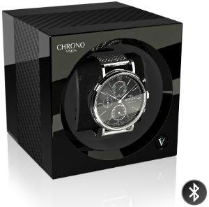Chronovision One Bluetooth Carbon Schwarz Hochglanz