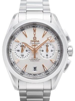 Omega Seamaster Aqua Terra 150 M Chronograph GMT Zweite Zeitzone