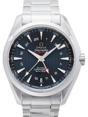 Omega Seamaster Auqa Terra 150 M GMT Zweite Zeitzone