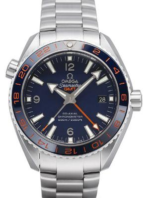 Omega Seamaster Planet Ocean Good Planet Foundation GMT Zweite Zeitzone
