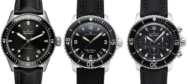 Blancpain Fifty Fathoms Kollektion