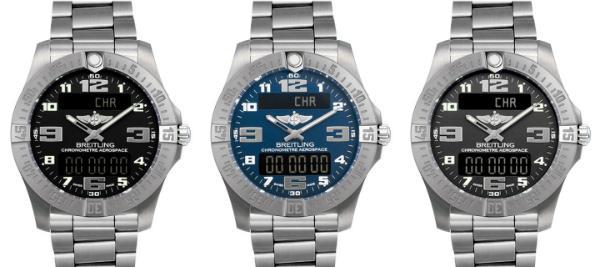 Breitling Aerospace Evo Kollektion Quarzuhren