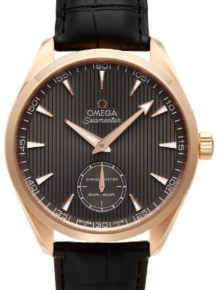Omega Aqua Terra XXL kleine Sekunde 49,20 mm