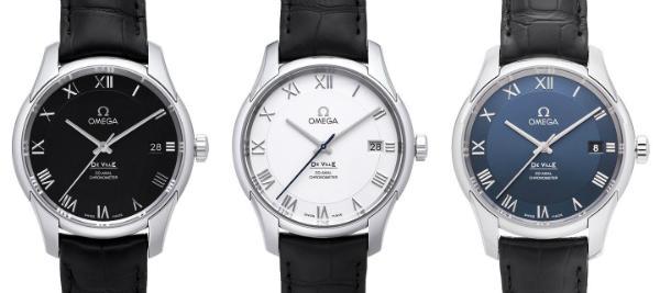 Omega De Ville Co-Axial Chronometer Kollektion