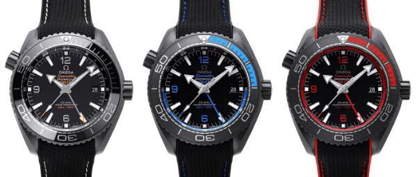 Omega Seamaster Planet Ocean Deep Black Kollektion