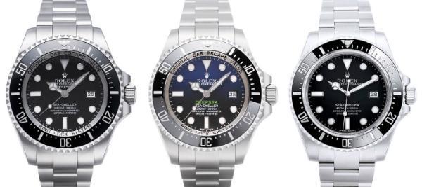 Rolex Sea-Dweller Kollektion