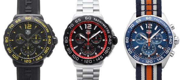 Tag Heuer Formula 1 Quarz Chronograph Kollektion