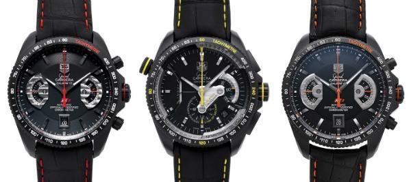 Tag Heuer Grand Carrera Automatik Chronograph Kollektion