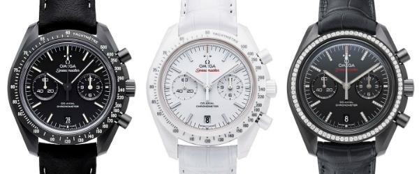 Omega Speedmaster Moonwatch Co-Axial Chronograph Kollektion