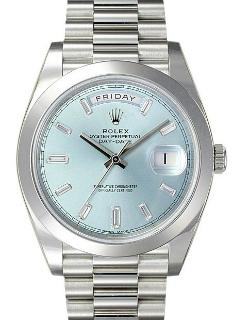 Rolex Oyster Perpetual Day-Date 40 Platin Praesident-Band