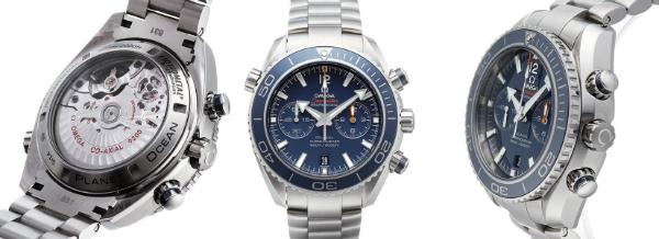 Omega Seamaster Planet Ocean Chrono Titan Version 232-90-46-51-03-001
