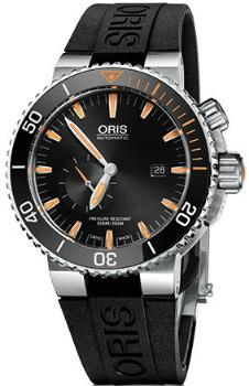 Oris Aquis Small Second Date Version 01 743 7709 7184-Set RS