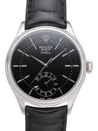 Rolex Cellini Dual Time Herrenuhr 39mm