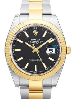 Rolex Oyster Perpetual Datejust 41 in der Version 126333 Gehaeuse Stahl Gelbgold