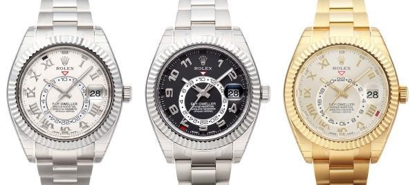 Rolex Sky-Dweller Kollektion