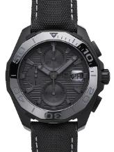 Tag Heuer Aquaracer 300M Calibre 16 Automatik Chronograph 43mm Black Phantom Version CAY218B-FC6370 aus schwarzem Titan