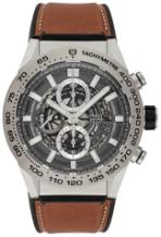 Tag Heuer Carrera Calibre HEUER 01 Automatik Chronograph 45mm Grey Phantom Titanium Version CAR2A8A-FT6072