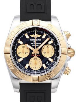 Breitling Chronomat 41 in der Version CB014012BA53150SA18S1 in Edelstahl und 18K Rosegold