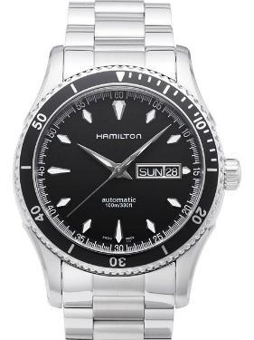 Hamilton Jazzmaster Seaview Day Date Auto mit Datum und Wochentagsanzeige