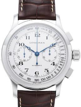 Longines Heritage Lindbergh Hour Angle Watch mit Stundenwinkel