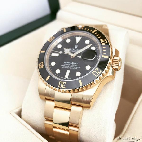 Rolex Gold Diving Submariner