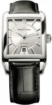 Maurice Lacroix Pontos Rectangulaire Date Version PT6247-SS001-130