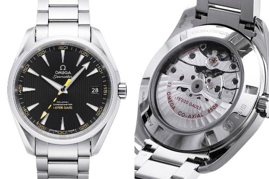 Omega Seamaster Aqua Terra Chronometer 15000 Gauss mit schwarzem Zifferblatt