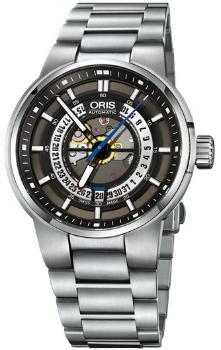 Oris Williams Engine Date Herrenuhr in der Version 01 733 7740 4154-07 8 24 50S