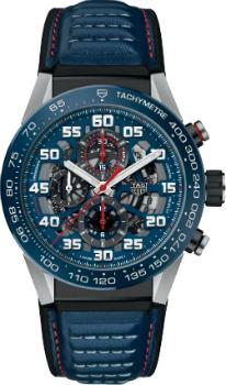 Tag Heuer Carrera Calibre HEUER 01 Automatik Chronograph 45mm Red Bull Racing Special Edition in der Version CAR2A1NFT6100