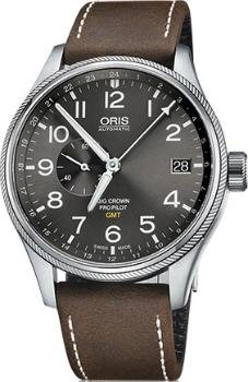 Oris Big Crown ProPilot GMT kleine Sekunde Small Second Version 01 748 7710 4063-07 5 22 05FC