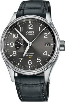 Oris Big Crown ProPilot GMT kleine Sekunde Small Second Version 01 748 7710 4063-07 5 22 06FC