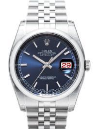 Rolex Datejust 36mm Zifferblatt blau