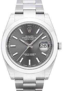 Rolex Datejust 41mm Herrenuhr Automatik Stahl