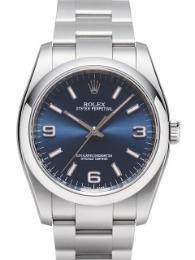 Rolex Oyster Perpetual 36 blau