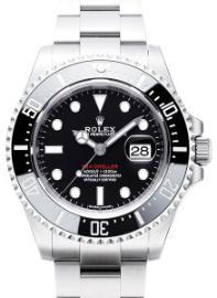 Rolex Sea-Dweller Automatik Band Stahl Zifferblatt schwarz