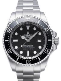 Rolex Sea-Dweller Deepsea Automatik Band Stahl Zifferblatt schwarz