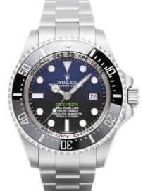 Rolex Sea-Dweller Deepsea D-Blue Band Stahl Zifferblatt blau
