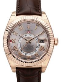 Rolex Sky-Dweller in der Version 326135 silber