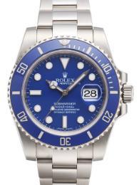 Rolex Submariner Date blau