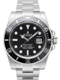 Rolex Submariner Date schwarz