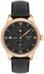 Tissot T-Classic Le Locle Regulateur Gehaeuse Rose beschichtet vergoldet