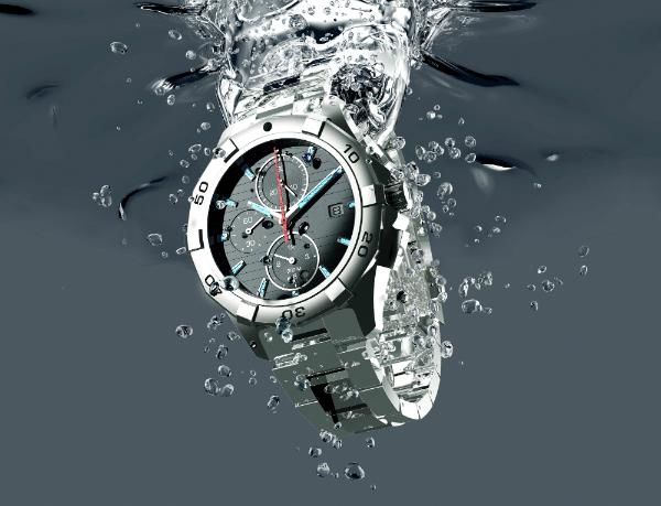 Wasserdichtheit bei Uhren